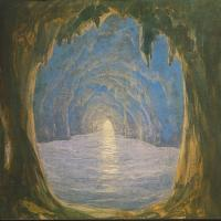 [M. Barabás: The Blue Grotto]