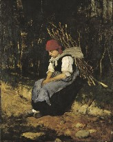[Munkácsy: Women & Brushwood]